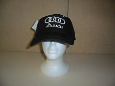 NEW AUDI BLACK  HAT FREE SHIPPING