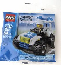 Lego City Police Quad Bike 30013 New Sealed
