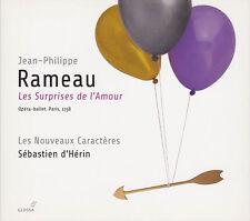 Jean-philippe rameau: les surprises de l'amour sebastien d 'surexploitées, 3 CD, comme neuf