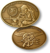 U.S. Navy SEAL / Naval Special Warfare Command - Bronze Challenge Coin