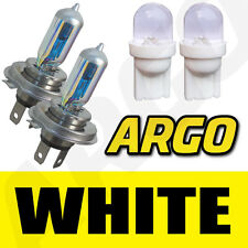 H4 XENON WHITE 55W 472 HEADLIGHT BULBS PIAGGIO-VESPA GTS 250 i.e.