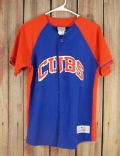 Cubs Castro 13 Jersey Baseball Red/Blue Men's Size S