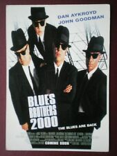 POSTCARD B40 ADVERT FILM POSTER FOR 'BLUES BROTHERS 2000' THE BLUES ARE BACK