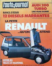L' Auto Journal n° 20. 15 novembre 1983. Audi 200 Turbo.