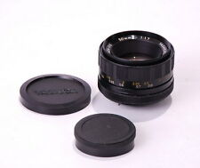YASHICA Yashinon-DS Auto 50mm 1:1.7 M42 Mount LENS Fast! EXC!