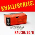 500 St ORIGINAL RAPID Gewindebolzen M6-RAU 30/20/6mm für Rapid Bolzensetzgerät