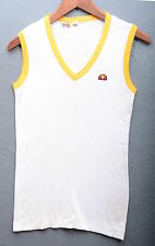 ELLESSE CANOTTA TANKTOP CASUAL TENNIS 80S VINTAGE TG 48 A452