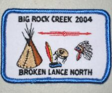 Big Rock Creek 2004 Broken Lance North Patch - Indian Guides (iron-on)