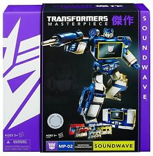 Transformers Hasbro Masterpiece Soundwave MP 02 NEW