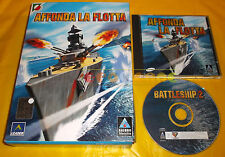 AFFONDA LA FLOTTA (Battleship 2)  Pc Versione Italiana 1ª Ed Big Box ○ COMPLETO
