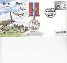 BB24 Battle of Britain RAF War Medal cover 75th Ann Battle of Britain 2015 FDC