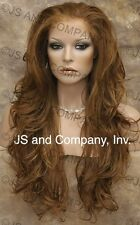 HEAT SAFE Lace Front WIG So Realistic  Red Blonde Mix APA8 27C29