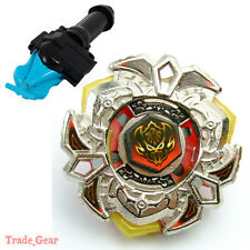 BB114 Vari Ares D:D BEYBLADE Masters Fusion Metal Fight+GRIP+BLUE SPIN LAUNCHER