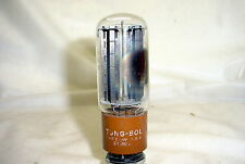 Tung Sol 5R4GYA Tube - black plates, side D getter, tested 100% & balanced