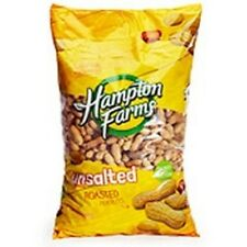 HAMPTON FARMS *Unsalted & Roasted in the Shell Peanuts* (5lb)