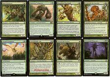 MTG Treefolk (Green) Deck - Timber Protector Dauntless Dourbark, Magic Gathering