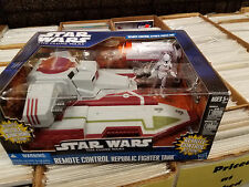 Star Wars The Clone Wars Remote Control RC Republic Fighter Tank NIB