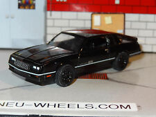 1984 CHEVROLET MONTE CARLO SS BLACK 1/64 SCALE DIORAMA DIECAST COLLECTIBLE PG