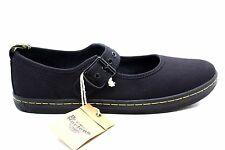 Dr. Martens Womens Carnaby Mary Jane Flat Shoe Black Size 9 UK 11 US