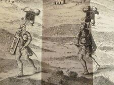 MÉMOIRES MILITAIRES SUR LES GRECS ET LES ROMAINS Charles Guischardt Gravures