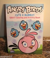 ANGRY BIRDS Coloring and Activity Book Cute & Bubbly  NEW