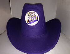 Vtg LSU Tigers Cowboys hat cap NCAA College Lousiana Party tailgate Football new