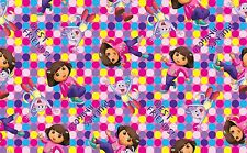 "1 yard Dora ""One Hip Explorer"" Fabric"