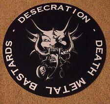 Desecration SLIPMAT New Death Metal Vader Morbid Cannibal Napalm LOOK Ltd Ed !