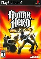 GUITAR HERO WORLD TOUR NEW SEALED PLAYSTATION 2 PS2 FAST