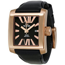 TW Steel CEO Goliath Rose Gold-plated 37mm Unisex Watch CE3010