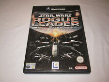 Star Wars: Rogue Leader - Rogue Squadron II (Nintendo GameCube PAL) Complete Exc