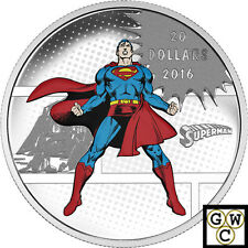 2016 $20 DC Comics(TM)Originals;The Man of Steel(TM).9999 Fine Silver(NT)(17722)