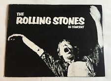 """The Rolling Stones In Concert"" 1972 Tour Program From Indianapolis & FREE GIFT!"
