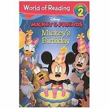 World of Reading: Mickey's Birthday by Laura Driscoll (2013, Hardcover,...