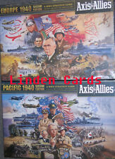 AXIS & ALLIES 1940 EUROPE & PACIFIC NEW SEALED BOARD GAME BUNDLE 2nd EDITION
