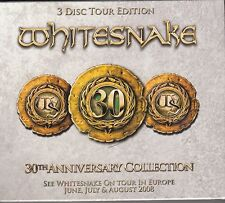 Whitesnake - 30th Anniversary Collection (Tour edition), 3cd NUOVO