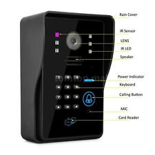 Wireless WiFi Remote Video Camera Intercom Door Phone Doorbell Rainproof EU