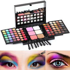 78 Full Color Professional Makeup Set Kit EyeShadow Lip Gloss Palette Blusher