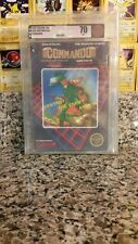 Commando Brand New Factory Sealed Nintendo NES VGA 70 Gold Seal Non Rev A CAPCOM