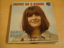 45T EP EUROVISION 1967 / SANDIE SHAW - PUPPET ON A STRING