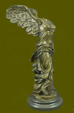 Winged Nike Samothrace Louvre Paris Bronze Marble Victory Statue Sculpture Art R