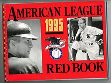 1995 American League MLB Baseball Red Book