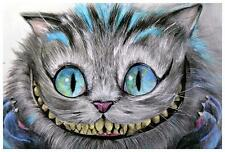 Cheshire Cat by Manuela Lai Fine Art Print Tattoo Alice in Wonderland Character
