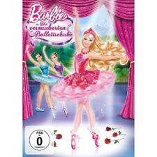BARBIE - DIE VERZAUBERTEN BALLETTSCHUHE  DVD ANIMATIONSFILM KINDER NEU