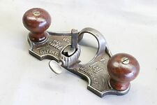 VINTAGE Stanley  No 71 Router Plane Patent March 4 1884 1 Cutter