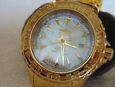 Invicta 47mm Pro Diver Ocean Ghost Automatic MOP 18K Ion-Plated Gold Watch L@@K!