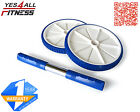 Yes4All Best Abdominal Wheel Dual Roller Ab Machine Exercise Blue - ²O2O5F