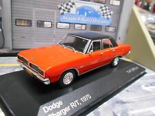 DODGE Charger R/T Limousine V8 1975 rot orange schwarz IXO White Box 1:43