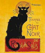 CAT, CHAT, KATZE, CHAT NOIR, ART NOUVEAU POSTER, STEINLEN, MAGNET