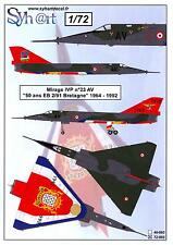 Syhart Decals 1/72 French MIRAGE IVP 50th Anniversary 2/91 Bretagne 1964-1992